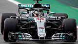Gp Brasile: avanti Hamilton e Bottas