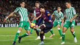 Messi returns but Barca beaten at home by rampant Betis