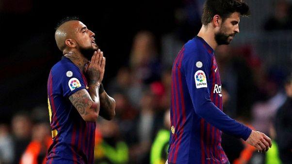 Barcellona Ko in casa contro il Betis