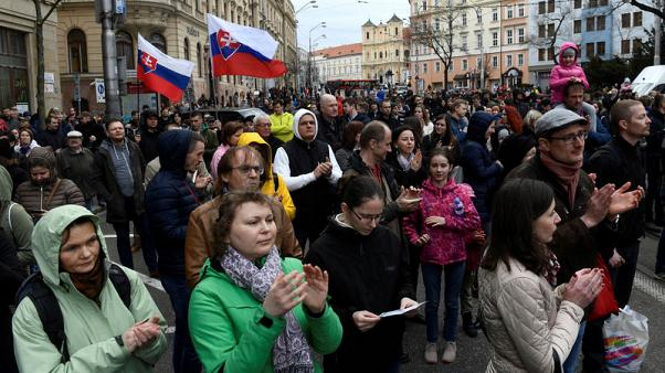 Slovakia's ruling party wins regional elections but support shrinks after journalist's murder