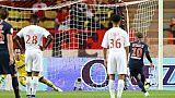 Ligue 1: Monaco coule, Marseille sort la tête de l'eau