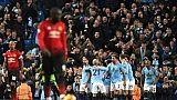 Angleterre: Manchester City remporte le derby contre United 3-1