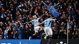 Smooth Man City outclass United with 3-1 derby win