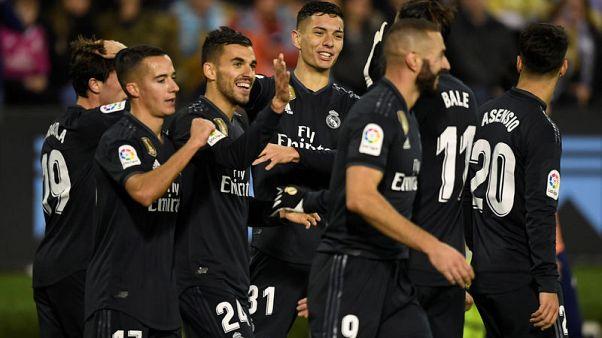 ريال يحافظ على مسيرة انتصاراته تحت قيادة سولاري بالفوز في فيجو