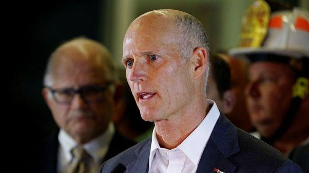 Florida Republican Scott asks that ballots be guarded in U.S. Senate race recount