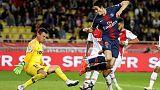 Cavani hits hat-trick as PSG hammer hapless Monaco 4-0