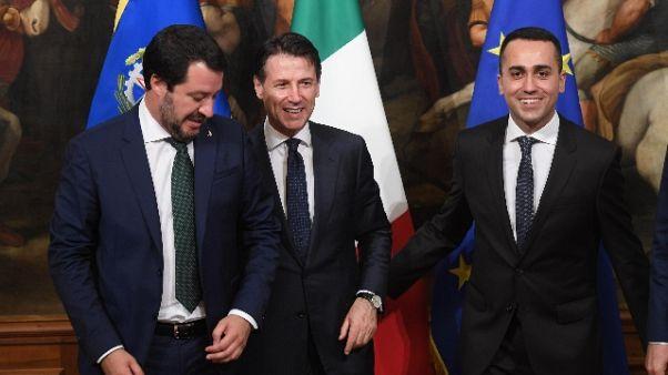 Manovra: Di Maio e Salvini al vertice
