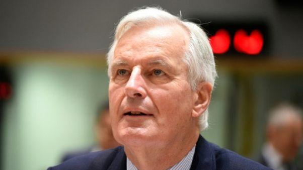 """Barnier aux ministres de l'UE: """"pas encore d'accord"""" sur le Brexit"""