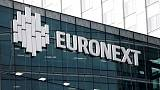 Euronext beats profit expectations, earnings from growth projects disappoint