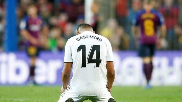 Champions: Real perde Nacho e Casemiro