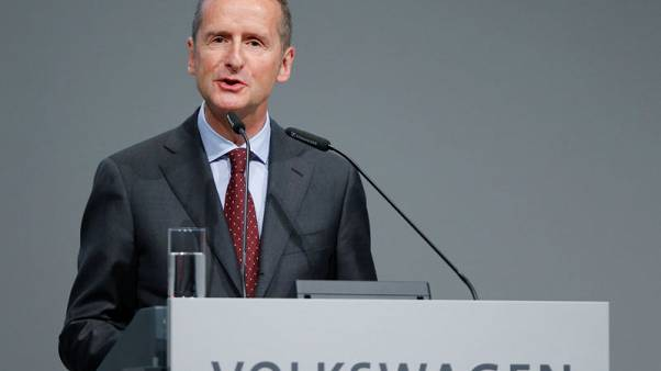 VW capable of building 50 million electric vehicles - CEO in Automobilwoche