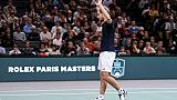 Richard Gasquet, lors du Masters 1000 indoor de Paris, le 31 octobre 2018
