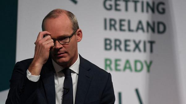 Ireland's Coveney: this week very important for Brexit deal, still work to do