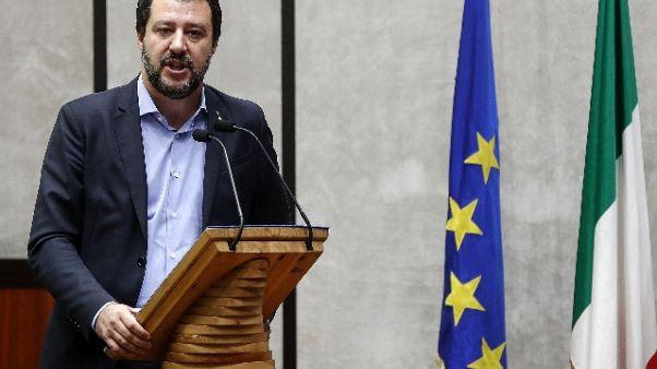 Salvini,  incontro positivo con Conte