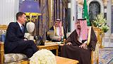 Hunt will press Saudi leaders over Khashoggi killing - May's spokesman