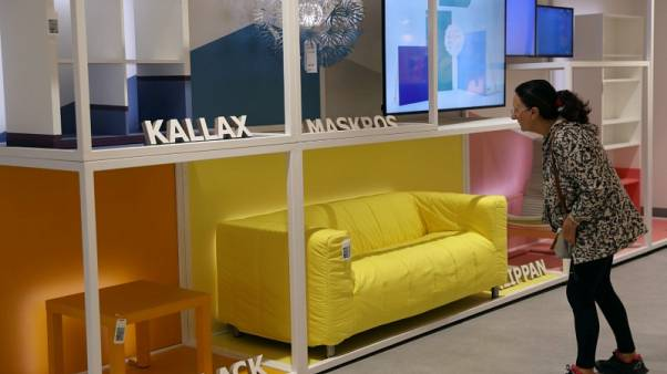 IKEA brand owner says higher wood and metal prices hit profit