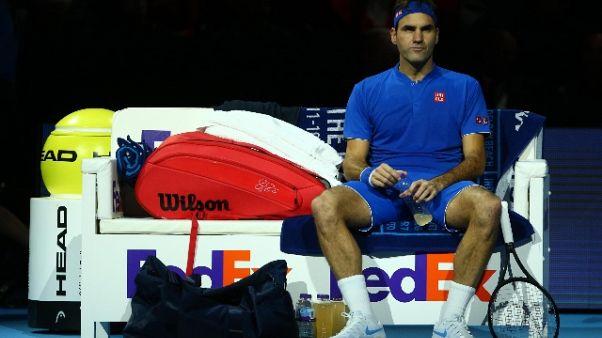 Atp Finals, Federer annulla allenamento