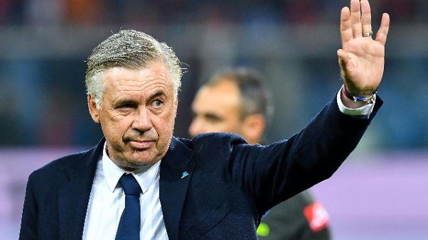 """Ancelotti """"insulti? Fermiamo le partite"""""""