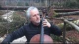 Maltempo, Brunello suona ad Arte Sella
