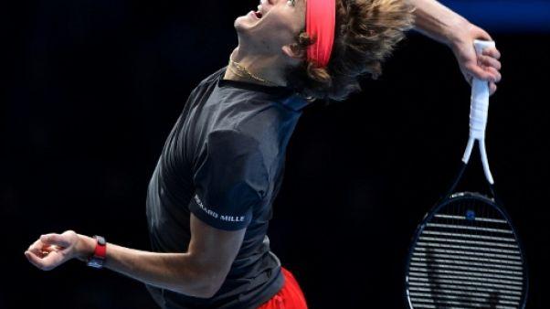 Tennis: Zverev prend la mesure de Cilic au Masters de Londres