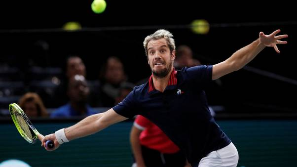 France's Gasquet withdraws from Davis Cup final