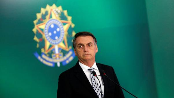 Brazil's Bolsonaro says unlikely to pass pension reform this year