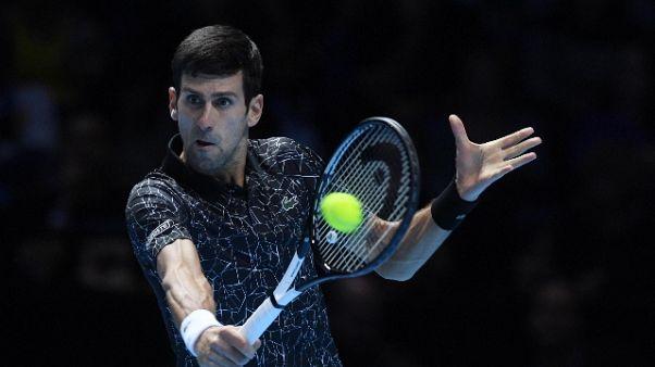Atp Finals:Djokovic domina contro Isner