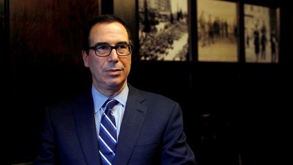 U.S. Treasury's Mnuchin spoke with China Vice Premier Liu - WSJ