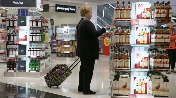 UK consumer spending sags in October - Visa