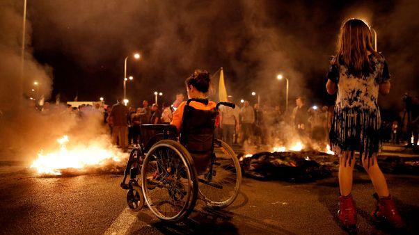 Gaza-Israel frontier calms as enemies warily cease fire
