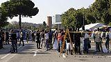 Migranti:sgombero presidio Baobab a Roma