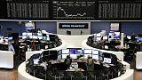 أسهم أوروبا تنتعش وسط آمال بشأن التجارة