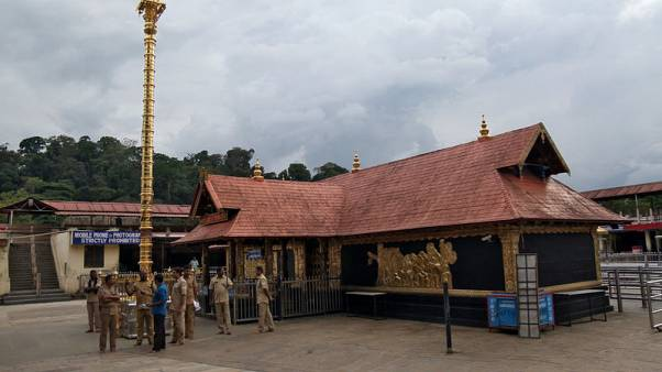 India's top court to review ruling lifting ban on women of menstruating age entering temple