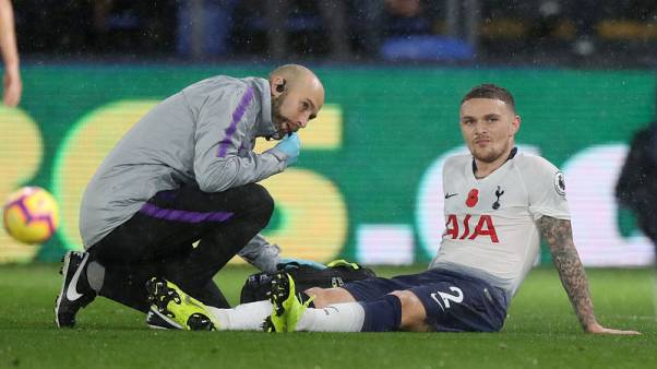 Spurs defender Trippier withdraws from England squad with injury