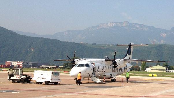 Provincia Bolzano cede aeroporto