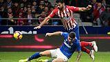 Espagne: nouvelle blessure pour Diego Costa et pour l'Atlético