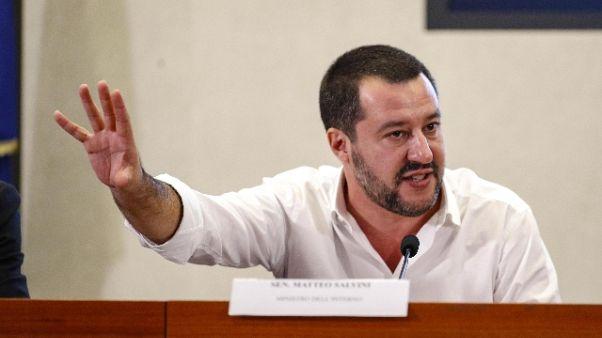 Salvini a Malagò, più soldi a sport base