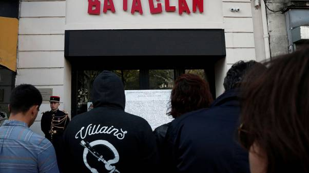 French officials mark third anniversary of Bataclan attack