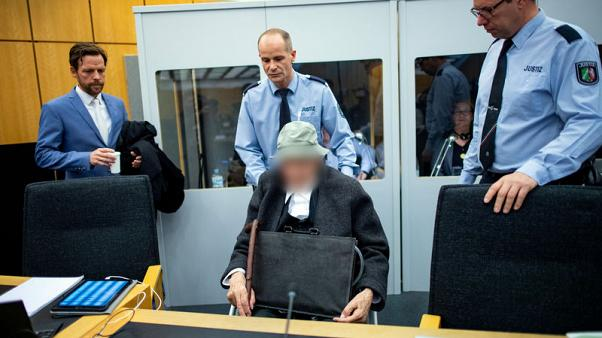 Former death-camp guard tells German court he was never a Nazi
