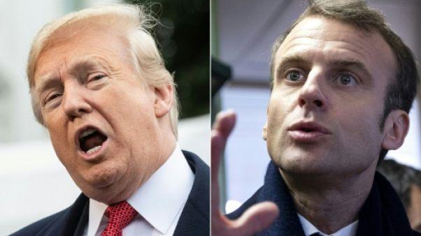 Trump s'en prend avec virulence à la France et à Macron
