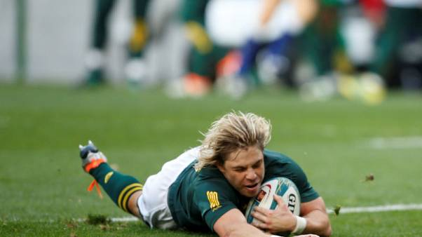 De Klerk allowed to play for struggling Sale this weekend