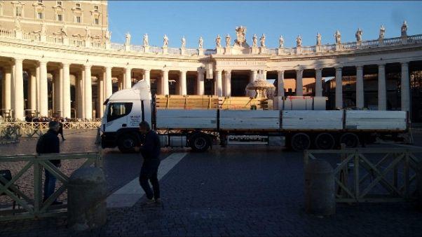A San Pietro sabbia Jesolo per presepe