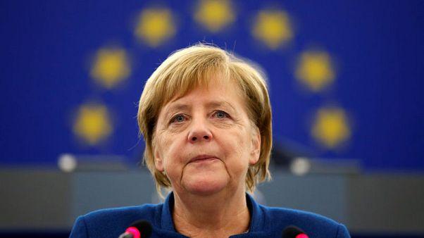 Merkel: Euro can only work if members meet treaty responsibilities