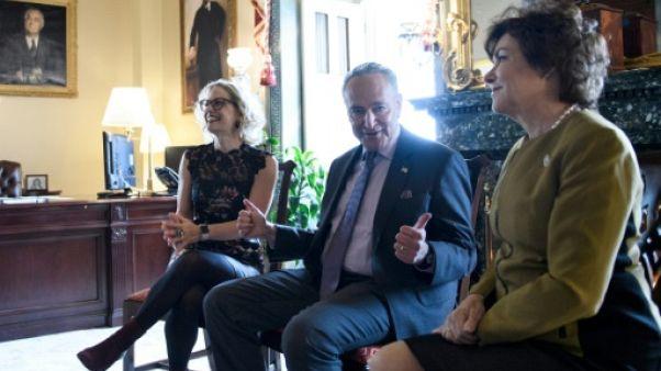 """Les élus retournent au Congrès américain avec la menace d'un """"shutdown"""""""