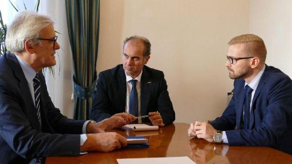 Nicchi incontra sottosegretari Governo