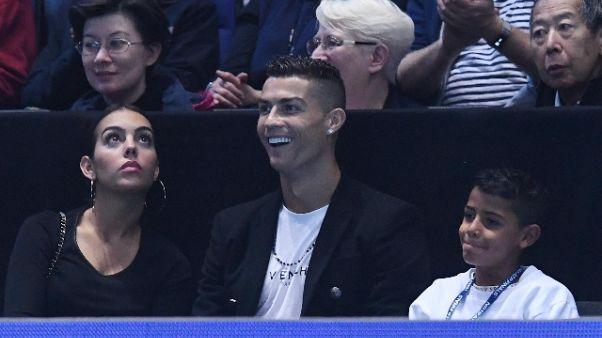 Cristiano Ronaldo in vacanza a Londra