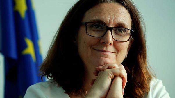 EU's Malmstrom says she assumes U.S. won't slap autos tariffs during talks