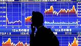 Asia stocks shaken by plunge in crude oil, growth worries