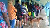 Heavy rain delays some voting as drenched Fijians go to the polls