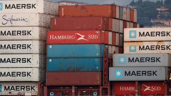 Maersk warns trade war hit container shipping